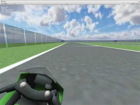 Motorrad Simulator 2010 by Unity3d Motorcycle Simulator Prototype 02