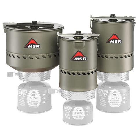 Msr Reactor Windproof Kompor 2 5l msr reactor stove pot outdoorplay