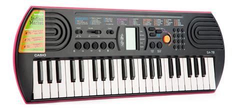 Keyboard Casio Sa 78 Casio Sa78 Casio Sa 78 buy casio electronic keyboard sa 78 with charger in india kheliya toys