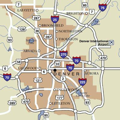 denver city map denver colorado hotels and denver colorado city guide