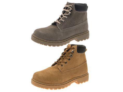 mens suede ankle boots uk boys mens desert ankle boots lace up faux suede