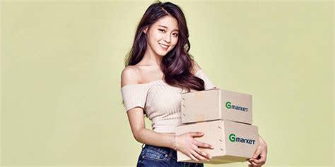Top Model Kemben foto seolhyun aoa jadi model g market