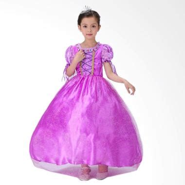 Agemlare Curly Dress Anak Orange baju princess anak terbaru di kategori dress anak