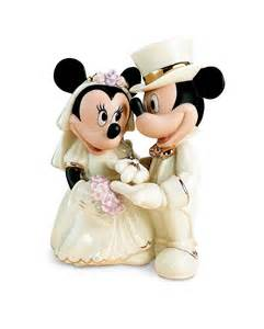 mickey and minnie wedding disney wedding cake toppers by lenox disney engagement rings