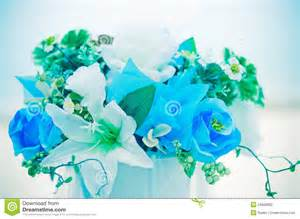 How To Read A Stock Table Romantic Flowers Bouquet With Blue Sky Stock Photography