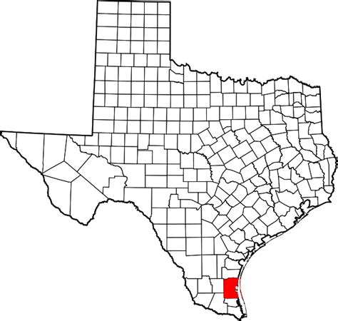 kennedy texas map file map of texas highlighting kenedy county svg wikimedia commons