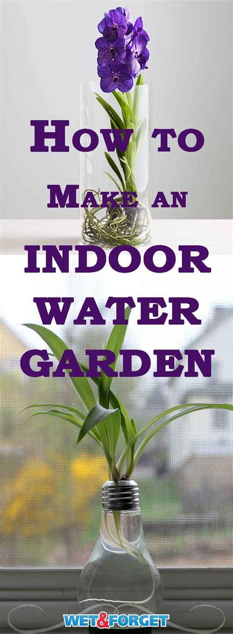 indoor water best 25 indoor water garden ideas on water