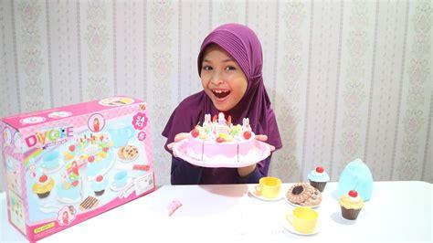 download mp3 gratis tiup lilin unboxing cake play set bisa tiup lilin di kue ulang tahun