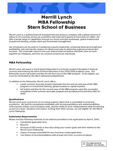 Mba Student Career Goals sle career objective essay