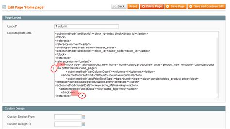 magento custom layout update view phtml magento how to disable quot new products quot block on home page