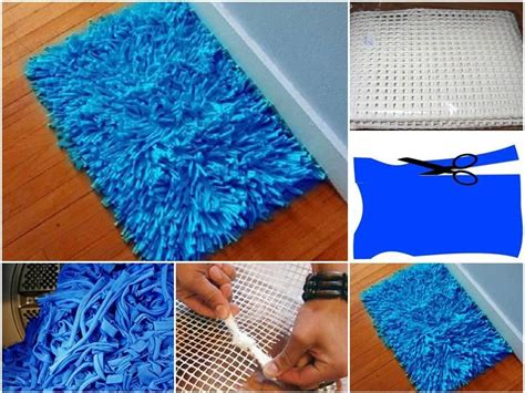 diy picture matting how to make old shirt floor mat step by step diy tutorial