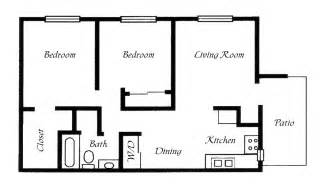 Exceptional 2 Bedroom Mobile Home Plans #1: Mobile-Home-Floor-Plans-2-Bedroom.png