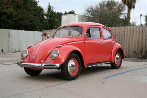 Volkswagen European Models by 1957 Volkswagen European Model Oval Window Vw Bug 1954