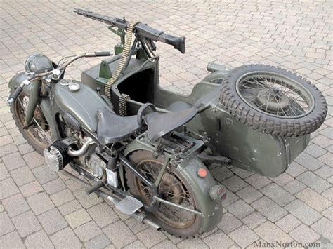 bmw  military sidecar  machine gun