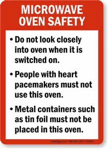 Design My Own Kitchen Free microwave oven guidelines food and kitchen safety sign
