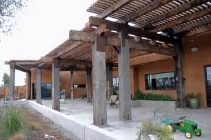 Pergola Post Supports by Reclaimed Timbers Reclaimed Timber Beams Recycled Timbers