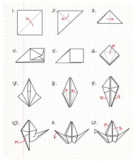 How To Make A Origami Crane Easy Step By Step - i do it yourself diy project origami paper cranes