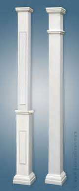Painting square porch columns pictures to pin on pinterest