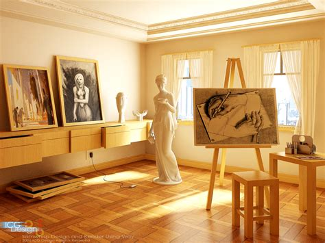 Artist Room spaces that inspire solitude contemplation and creative work