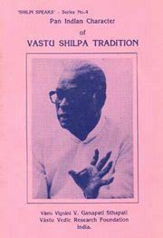 pan indian character  vaastu shilpa tradition  dr