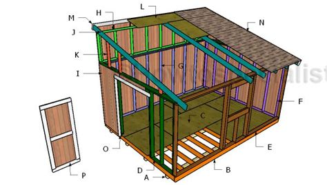 hiuse plans 1000 ideas about lean to shed on pinterest lean to