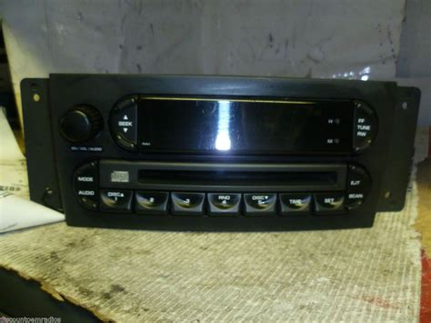 08 Chrysler Pacifica by 04 08 Chrysler Pacifica Radio Cd Player Rah P05082764af On
