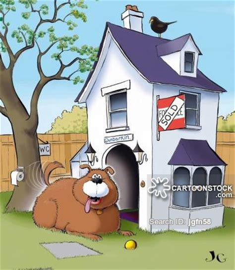 cartoon dog houses spoiled dogs cartoons and comics funny pictures from
