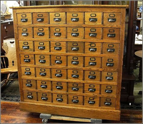 antique library card file cabinet antique library card catalog cabinet home design ideas