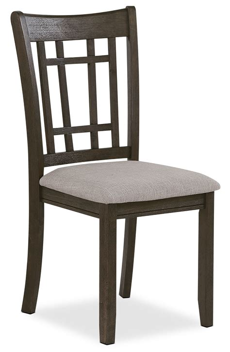 dining chair brown the brick