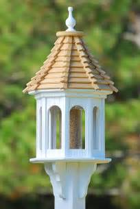 Fancy Bird Feeders Fancy Home Cypress Shingle Slope Roof 14 Inch Gazebo Bird