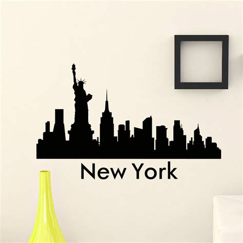 Our City Am 9030 Stiker Dinding Wall Sticker 1 free shipping the wall decal vinyl sticker new york city