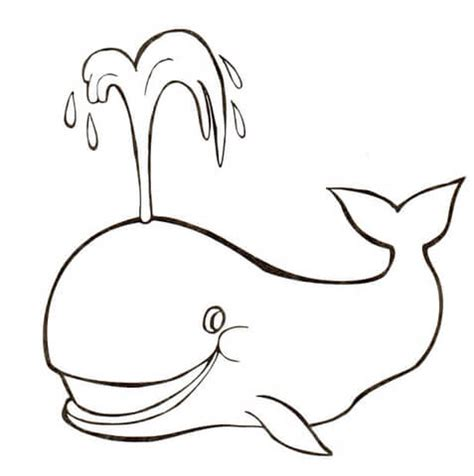 coloring page of water spout whale spouts water coloring page super coloring