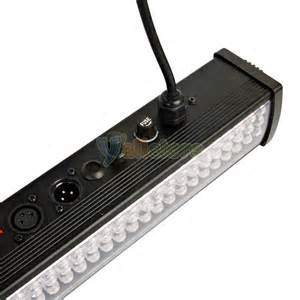 110v Led Light Bar 110v 50w Dj 252 P10 Led Light Rgb Wall Bar Stage Wash Show Lighting Black Ebay