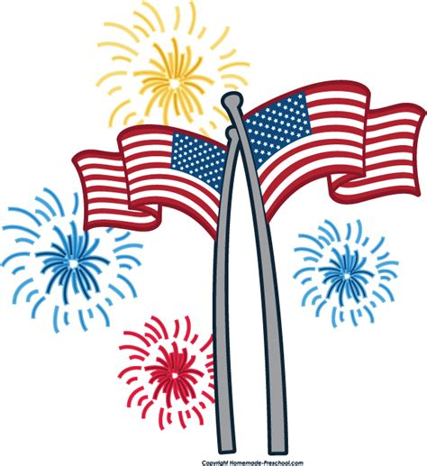 fourth of july clip free 4th of july fireworks border clipart panda free