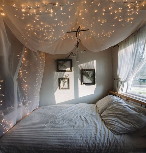 starry bedroom diy canopy on tumblr