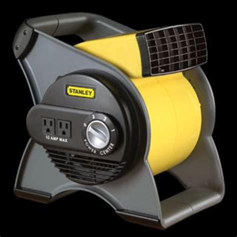 stanley 655704 high velocity blower fan yellow lasko max performance pivoting utility fan model 4962 on