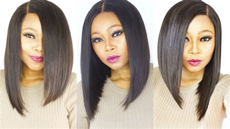 bob hair extensions with closures how to make cut a versatile bob wig start to finish