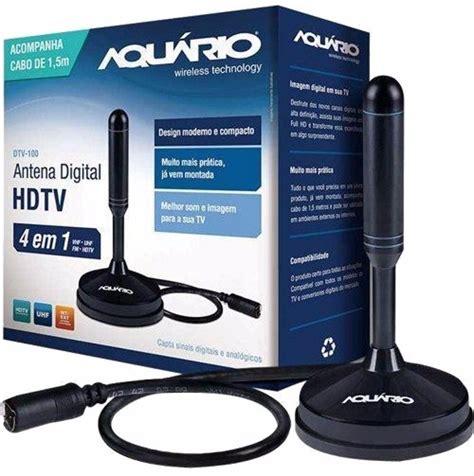 Receiver Antena Tv Digital antena interna tv digital hdtv dtv 100 aquario 100 original r 29 90 em mercado livre
