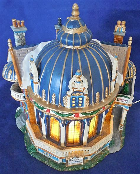lemax porcelain lighted palace ballroom animated musical