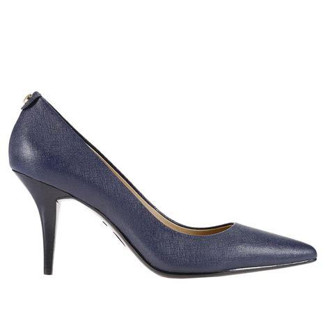 michael shoes for michael michael kors pumps shoes in blue lyst