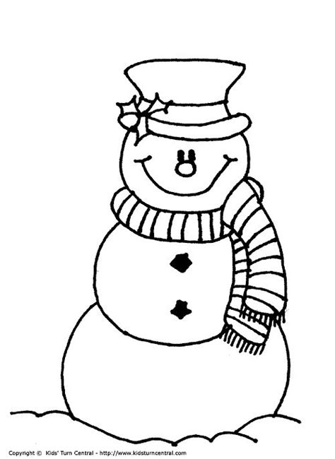 little snowman coloring page 178 best images about drawings snowmen on pinterest
