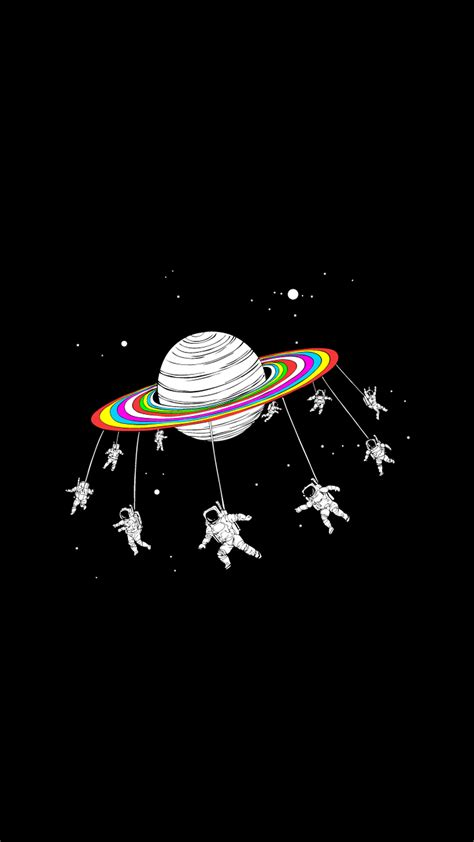 wallpaper iphone astronaut astronauts merry go round planet space iphone 6 hd