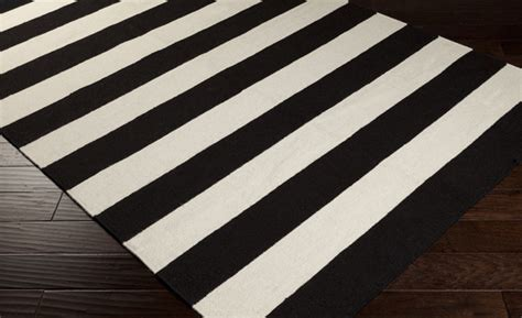 Black And White Striped Bath Mat by Black And White Striped Bath Rug Roselawnlutheran