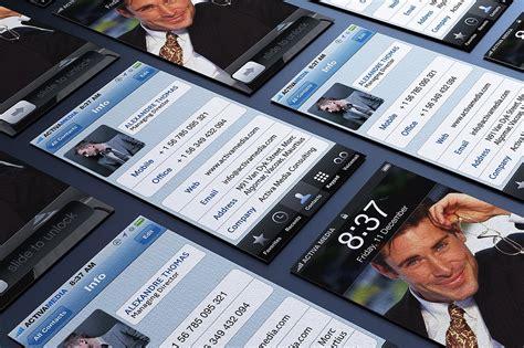 business card designer ios new fine iphone business card template