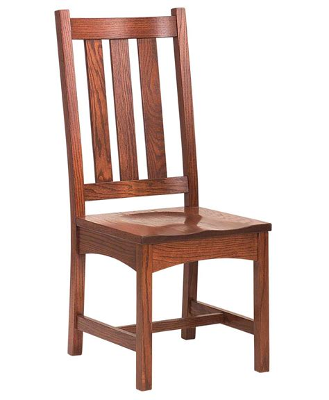 vintage mission dining chair amish direct furniture