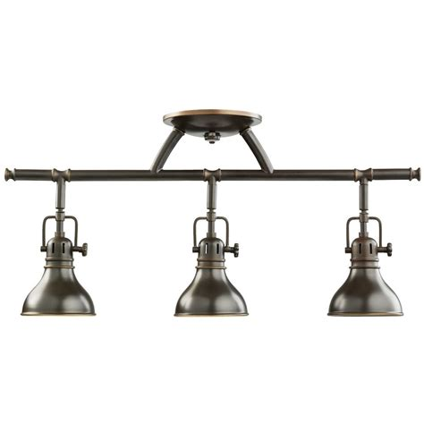 Track Light Fixtures For Kitchen Kichler Adjustable Rail Light For Ceiling Or Wall Mount 7050oz Destination Lighting