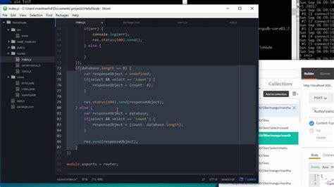 node js tutorial youtube reading data from mongodb using mongoose mongoose part 4