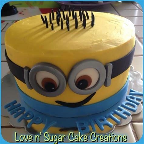 cake me despicable me birthday cake n sugar cake creations