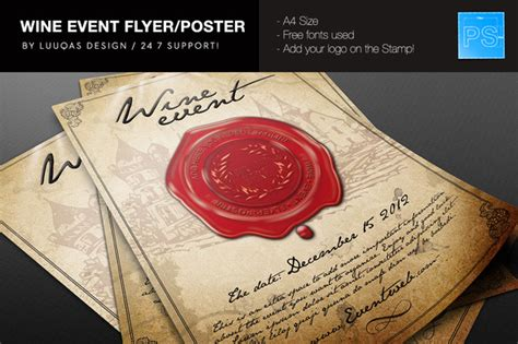 wine flyer template free wine and cheese flyer templates 187 designtube