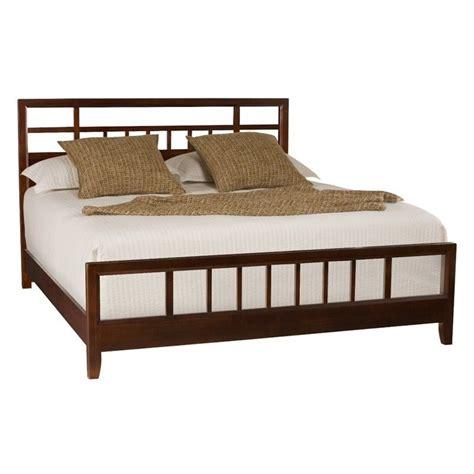 american drew tribecca modern slat bed in root 912 32xr